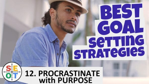 SEOT Steps to Success 012 Procrastinate with Purpose